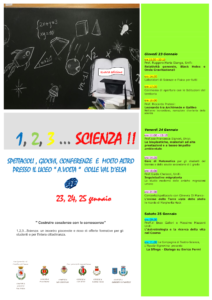 """1, 2, 3… Scienza "" @ Auditorium"